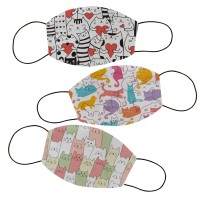 Masker kain filter non medis lucu anak dan dewasa- Animal 6
