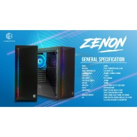 Casing PC CUBE GAMING ZENON - ATX - TEMPERED GLASS