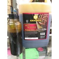 Kikkoman Bulgogi sauce 220 Gram (Repack) saus BBQ manis gurih yakiniku