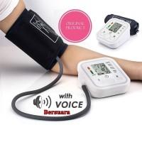 Tensimeter Digital Bersuara Alat Pengukur Tekanan Darah Lengan Atas