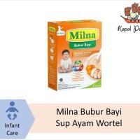 Milna Bubur Bayi Hati Sup Wortel Ayam 120 gram