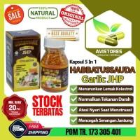 Minyak Habbatussauda Plus Garlic 5in1 JHP Isi 120 Kapsul
