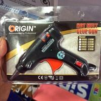 Mesin Lem Tembak / Hot Melt Glue Gun merk Origin 20 Watt