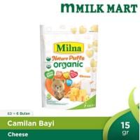 MILNA NATURE PUFFS ORGANIC CHESSE//MILKMART