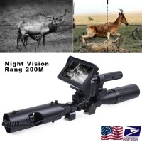 Hunting Night Vision Scope Device Optics Sight 850nm Infrared LED IR