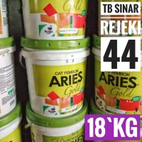 CAT Tembok ARIES GOLD PAIL 18KG Avian bkn QLuc Avitex Vinilex CATYLAC