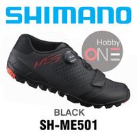 SHIMANO ME5 SH-ME501 BLACK - Sepatu Cleat MTB