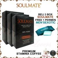 PROMO KOPI STAMINA PRIA - SOULMATE COFFEE Buy 3 Free 1 Candy