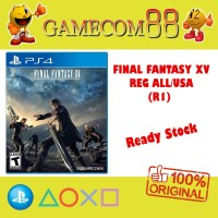 Final Fantasy XV Game PS4 Reg 1 USA