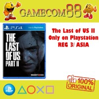 The Last of Us Part 2 Game PS4 Reg 3 Asia