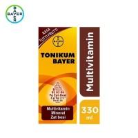 Tonikum Bayer - Multivitamin, Mineral, dan Zat Besi Rasa Tutti Frutti