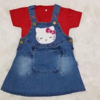 Baju anak perempuan / baju bayi / overall / baju kodok / hellokitty