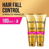 Paket isi 2 Pantene Kondisioner 3 Minutes MIracle Hair Fall 180ml