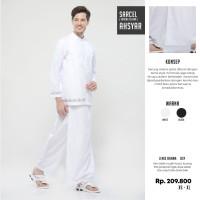 Rabbani - SARCEL AHSYAR Sarung Celana Warna putih dan Hitam Koleksi Te