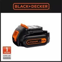 Black + Decker Baterai 10.8V 1.5Ah Li-Ion slider Battery (BL1512-KR)