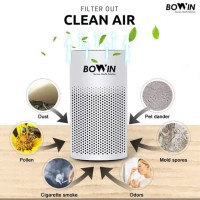 Bowin Air Purifier Mini Oxy – (3in1 True HEPA, ANION, Carbon Filter)