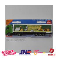 SIKU 1627 Diecast Truck Model Toys 1:87 Volvo Truck With Trailer