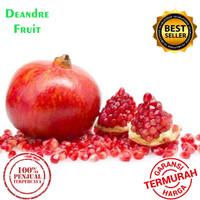 MURAH BANGET 1 Buah Delima Merah import Pomegranate Red fresh