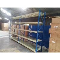 Rak Gudang Medium Duty T. 2.5 Meter Kapasitas 500 Kg perLevel
