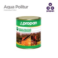 Finishing Kayu Waterbased Propan Aqua Politur clear