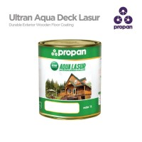 Finishing Kayu Waterbased Propan Aqua Lasur deck kayu exterior