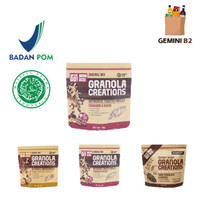 Hundred Seeds Granola Creations / Healthy Granola 60gr HALAL - Cinnamon Raisin