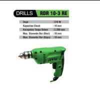 Bor Tangan 10 mm RYU RDR 10-3 RE