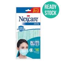 3M Masker Nexcare Daily Earloop Mask - 1 Pack [4 Masker]