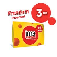 IM3 OOREDOO STARTER PACK PRABAYAR - FREEDOM INTERNET 3 GB, 30 Hari