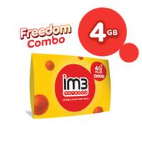 IM3 OOREDOO STARTER PACK PRABAYAR - FREEDOM 4 GB, 30 Hari