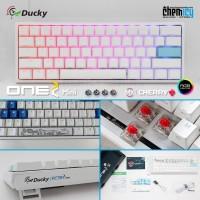 Ducky One 2 Mini RGB LED 60% Mechanical Gaming Keyboard - Pure White