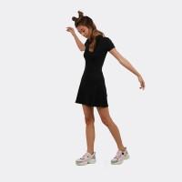 Flies Mini Dress A15797F Black