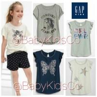 ORIGINAL BRANDED GapKids Girl Tee / Kaos anak gap kids blouse t-shirt