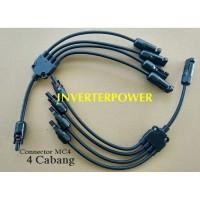 Kabel Konektor MC4 4 IN 1 CABANG 4 MC4 Connector 1in4