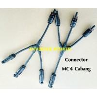 Konektor Mc4 Cabang 3 in 1 Connector Mc 4 Cabang 3