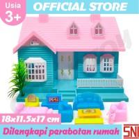 Mainan Anak Rumah Rumahan Boneka Lengkap Dengan Perabotan 113A