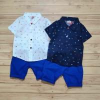 Baju Bayi Anak Laki laki Setelan Kemeja Anak Tuxedo Pesta Baby Food