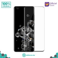 """Tempered Glass Samsung Galaxy S20 Ultra (6.9"""") Nillkin 3D DS+ Max FULL - Hitam"""