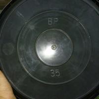 tatakan pot plastik bp hitam