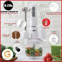 Hand Blender/Mixer/Blender Idealife Multi Speed il-215s