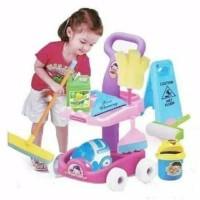 Mainan Cleaning Car DIY Set Mainan Edukasi Anak