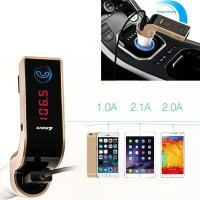 Charger 4 in 1Mobil Smartphone Bluetooth Handsfree FM Transmitter MP3