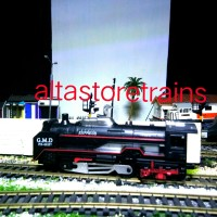 miniatur Kereta api uap railking sound