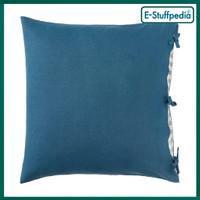 URSULA Sarung bantal kursi, hijau-biru tua 65cm IKEA