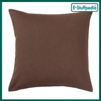 IKEA-VIGDIS Sarung bantal sofa kursi 50 cm, cokelat