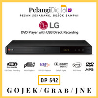 LG DVD Player With USB Content Playback - DP542