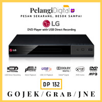 LG DVD Player With USB Direct Recording - DP-132