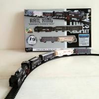 Mainan Rail King Intelligent Classical Train Kereta Api 19 Pieces