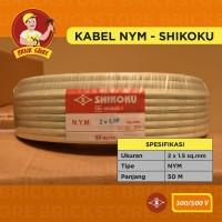 KABEL NYM shikoku 2X1,5mm 50m meter 2x1.5 50m 2 x 1,5 cable 2 x 1.5