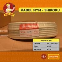 KABEL NYM shikoku 3X1,5mm 50m meter 3x1.5 50m 3 x 1,5 cable 3 x 1.5
